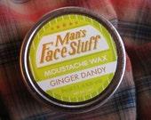 Ginger Dandy - Sweet Ginger Mint Moustache Wax