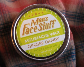 Ginger Dandy - Sweet Ginger Mint Moustache Wax
