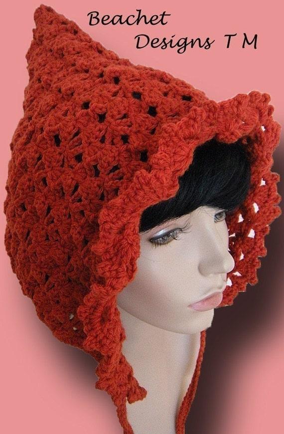 Pixie Gnome Hat Crochet Pattern PDF by jewlzs on Etsy