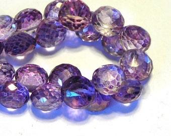 Mystic Purple Quartz candy kiss onions 4 Pieces