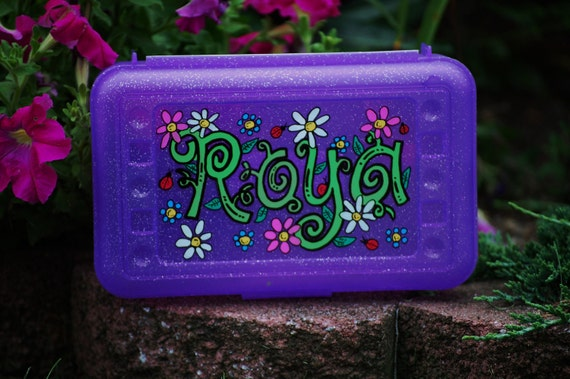 hand painted personalized plastic case