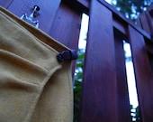 Vintage Pauw Shetland Wool Wrap Skirt with adjustable inset leather belt xs SALE