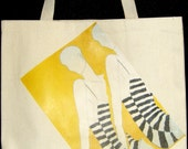 Vibrant Camaflauge Canvas Tote
