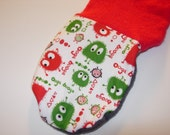 Christmas Ooga Booga Winter Weight Wool Footies - Spring Clearance Sale