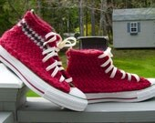 Berry Basket Knit Chucks