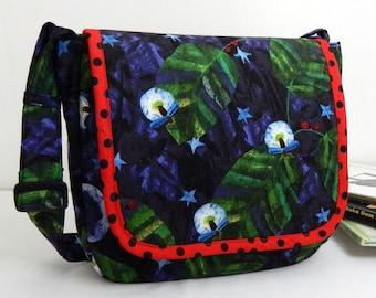 Chalkboard Art Activity Children's Messenger Bag Grouchy Ladybug