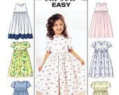 Butterick Sewing Pattern 3762 - Sizes 2, 3, 4 and 5 - UNCUT & UNFOLDED
