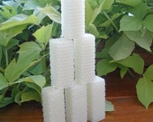 Square Taper Minis Beeswax Candles, Set of 6