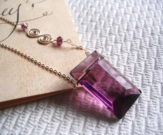 Purple Love - Pendant\/Necklace