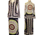 1960s Vintage Emilio Pucci Two Piece Set