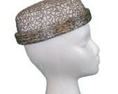 1960s Vintage Emme Beaded Pillbox Hat