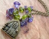 Fairy Door Locket Necklace - The Enchanted Portal