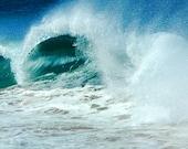 Surf Art-Beach Wave-Hawaiian Surf-Ocean Wave-Kaanapali Beach-ography-Fine Art Photo Print