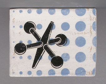SALE 50% OFF Retro Jack Ceramic Wall Tile