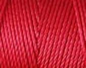 Shanghai Red C Lon Nylon Beading Cord Thread 92 yards