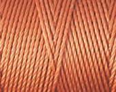 Light Copper C Lon Beading Cord Thread Nylon 92 yards