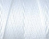 White C Lon Nylon Bead Cord Thread 92 yards