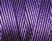 Purple C Lon Beading Cord Thread Nylon 92 yards