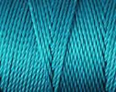 Cerulean Blue C Lon Nylon Beading Cord Thread 92 yards