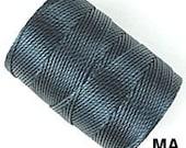 C Lon Beading Cord Thread Marina Blue 92 yards