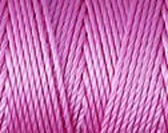 Light Orchid C Lon Nylon Beading Cord Thread 92 yards