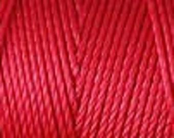 Shanghai Red C Lon Nylon Beading Cord Thread 92 yards