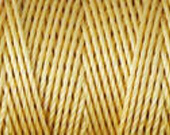Light Maize Gold C Lon Beading Cord Thread 92 yards Kumihimo