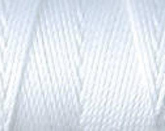 White C Lon Nylon Bead Cord Thread 92 yards