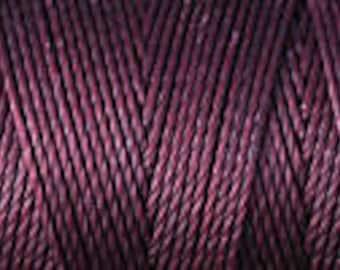 Black Currant C Lon Beading Cord Thread Nylon 92 yards