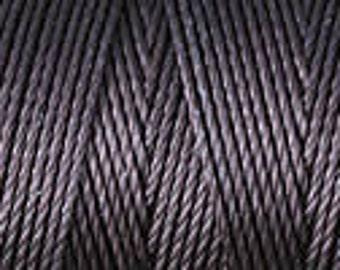 Chocolate Brown C Lon Nylon Beading Cord Thread 92 yards