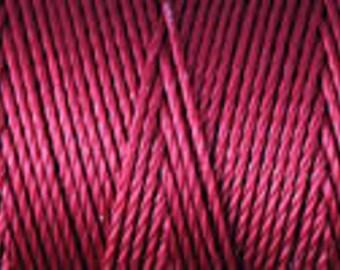 Red C Lon Nylon Beading Cord Thread 92 yards