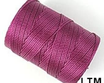 Light Magenta C-Lon Beading Cord Thread 92 yards