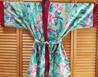 Paradise Kimono Robe - Size Large - Ready to Ship