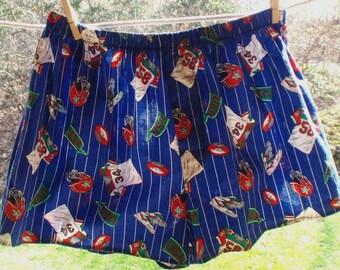 SALE - Football Boxer Shorts, Underwear - Medium - 38 - 40 inch waist