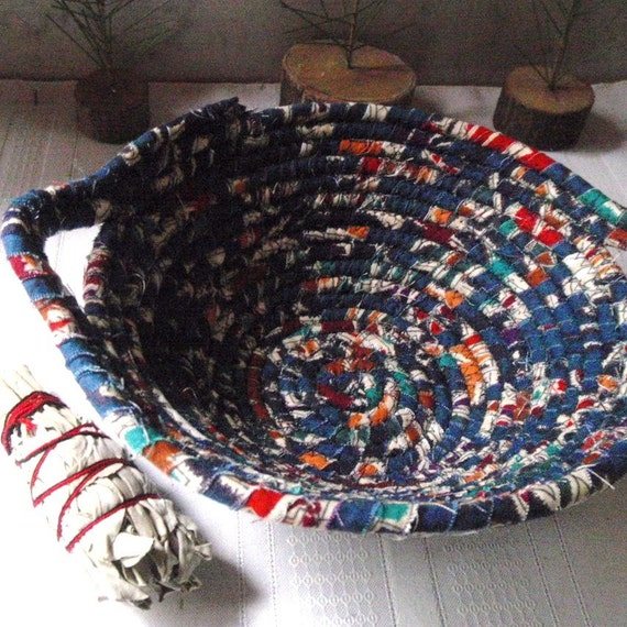 Weaving the Strands - Coiled Basket