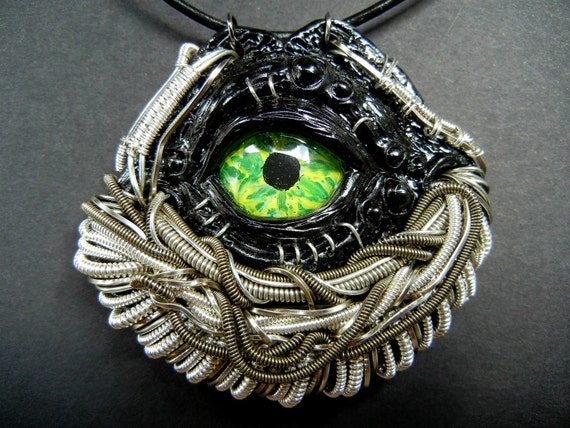 wire wrap dragon eye tutorial