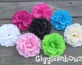 CHOOSE Your CoLoR- SiNGLe Soft Petal Silk Peony Flower- Gorgeous 5 inch Flower