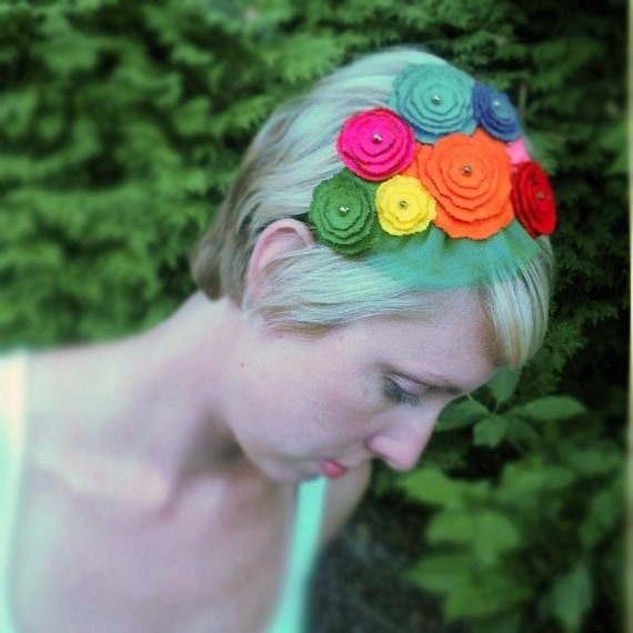 Cin Gin - Flower Head Band