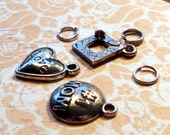 3 Charms mother, love , frame Free shipping