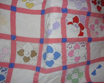 Cutter Quilt Antique Quilt Repurpose