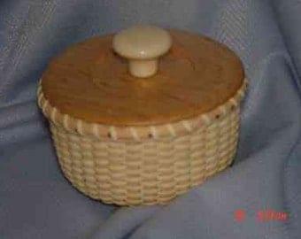 Nantucket Lightship Dresser Basket