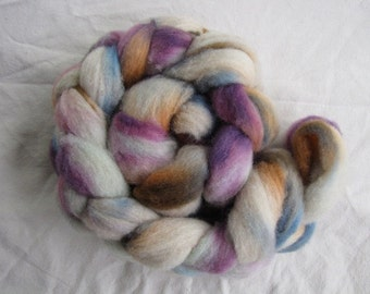 4oz Hand Dyed Corriedale Roving
