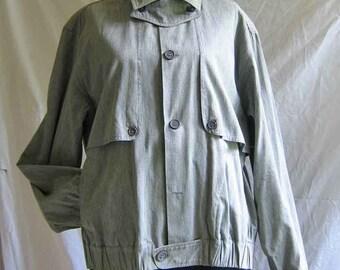 Christian Aujard 1980's Men's Cotton Jacket
