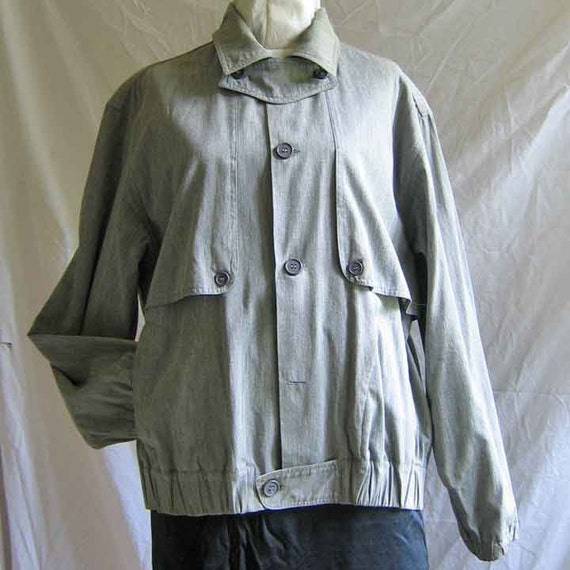 Christian Aujard 1980's Men's Cotton Jacket