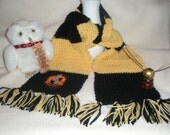 Harry Potter Inspired Hufflepuff Scarf