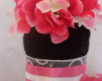 Towel Cake (Black Licorice)