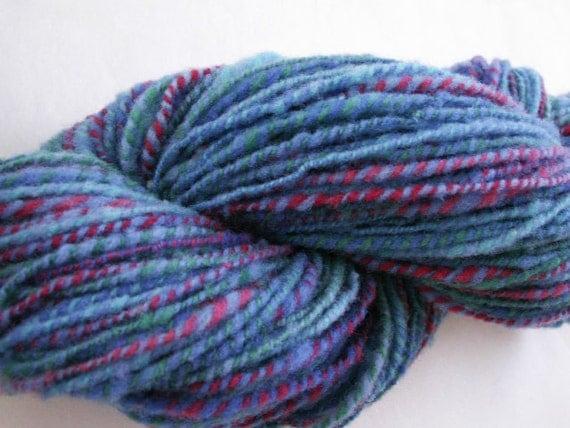 Delight - 114 yds - DK wt. - 2 ply - Handspun Babydoll Southdown Wool
