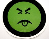 Mr YUK large temporary tattoo \/ Free shipping worldwide
