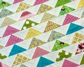 The Modern Flying Geese Quilt Pattern (PDF file) - Immediate Download