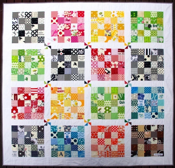 Quilter's Palette Quilt Pattern (PDF FILE) - Immediate Download